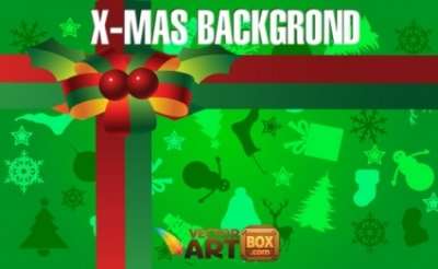 Free vector Vector background  X-mas Background