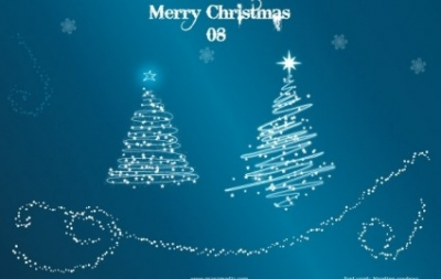 Free vector Vector misc  Xmas Tree 08 – Vector Trees with Snow