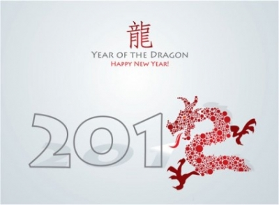 Free vector Vector misc  year of the dragon cards 03 vector
