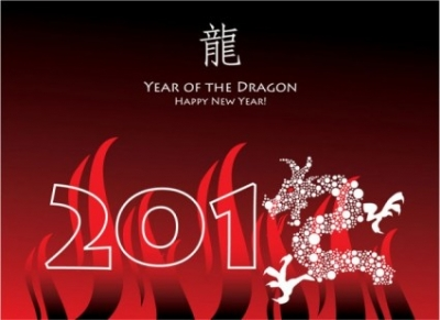 Free vector Vector misc  year of the dragon cards 04 vector