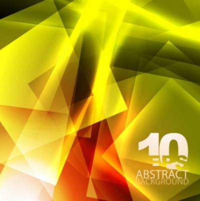 Free vector Vector background  yellow dynamic background 03 vector