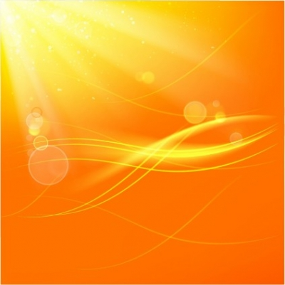 Free vector Vector background  Yellow shine